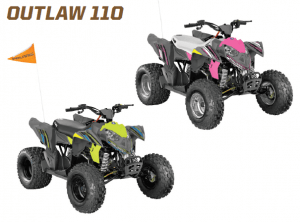 polaris outlaw 110 youth quad