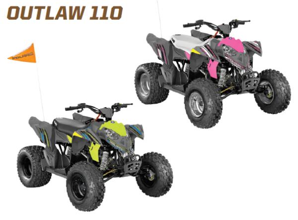 polaris outlaw 110 youth quad
